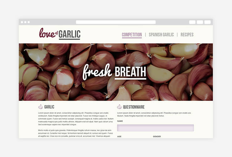 Love of Garlic