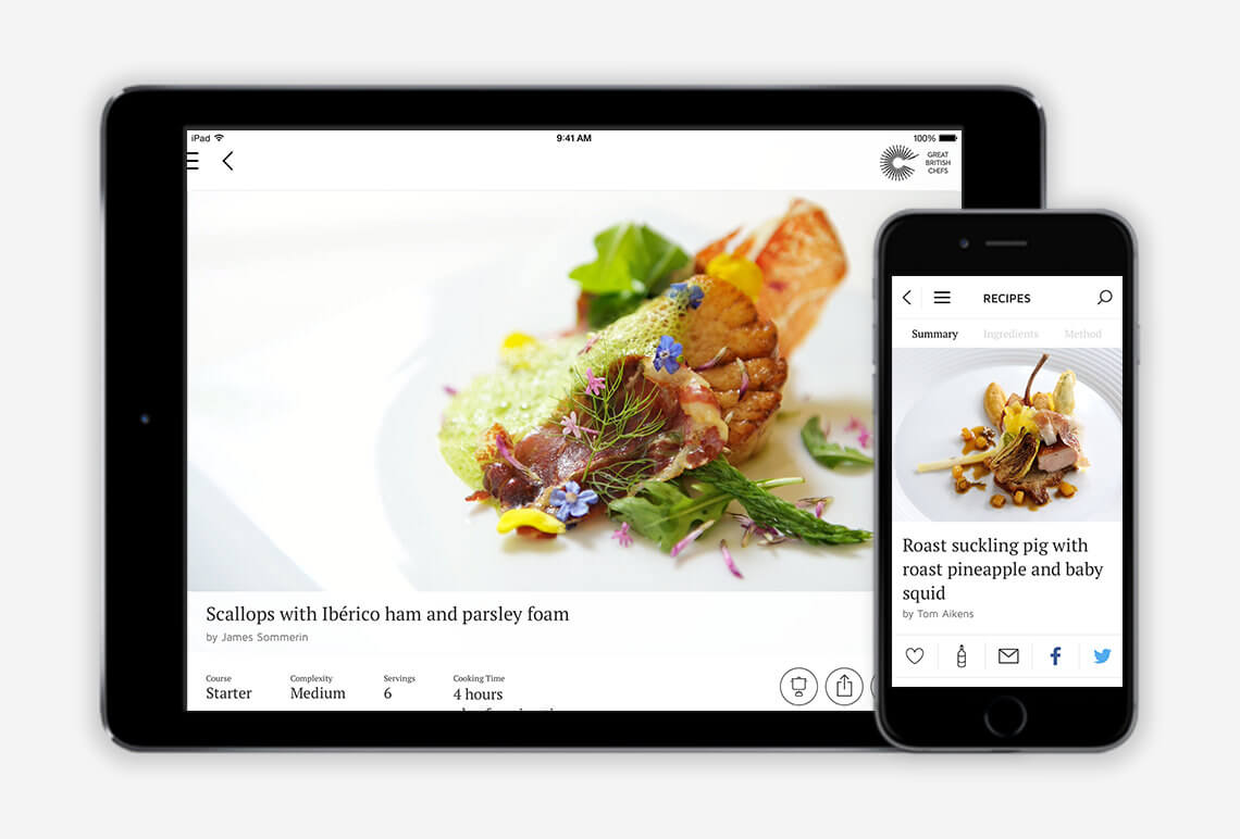 Great British Chefs iOS App